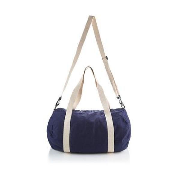 The Cotton Barrel Duffel Travel Bag / Trolley Case Bags Give Back TTB6010_BlueThumb2
