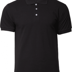 NHB2400 North Harbour Cotton Polo Tee Apparel Black