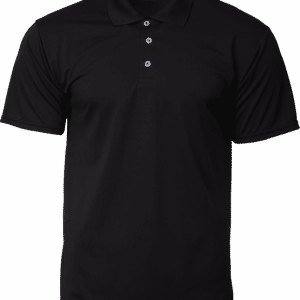 CRP7200 Crossrunner Polo Tee Apparel NATIONAL DAY Black