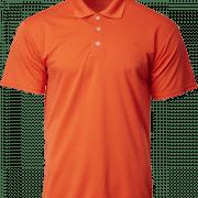 CRP7200 Crossrunner Polo Tee Apparel NATIONAL DAY Orange