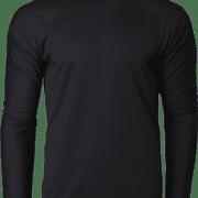 CRR36400 Crossrunner Long Sleeve Tee Apparel Black