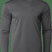 CRR36400 Crossrunner Long Sleeve Tee Apparel Charcoal