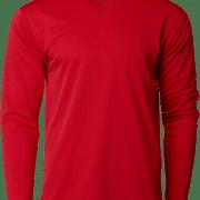 CRR36400 Crossrunner Long Sleeve Tee Apparel Red