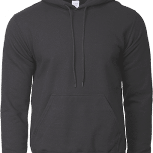 Gildan Hooded Sweatshirt Apparel Black