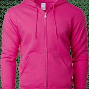 88600 Gildan Full Zip Hooded Sweatshirt Apparel Heliconia