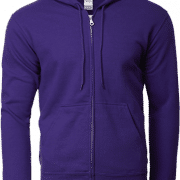 88600 Gildan Full Zip Hooded Sweatshirt Apparel Purple