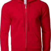 88600 Gildan Full Zip Hooded Sweatshirt Apparel Red