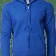 88600 Gildan Full Zip Hooded Sweatshirt Apparel Royal