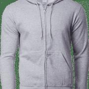 88600 Gildan Full Zip Hooded Sweatshirt Apparel SportGrey