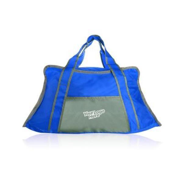 Trail Duffel Bag Travel Bag / Trolley Case Bags TTB6005_Thumb_Blue_Logo