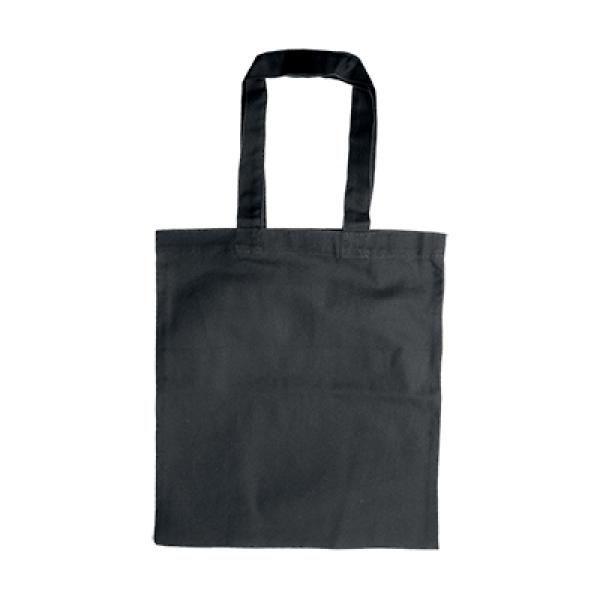 Zathtax Canvas Tote Bag Tote Bag / Non-Woven Bag Bags Promotion Eco Friendly TNW1030-BLK