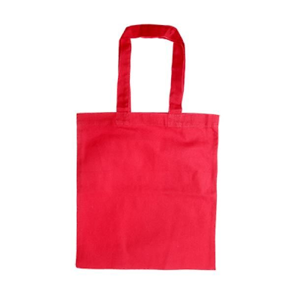 Zathtax Canvas Tote Bag Tote Bag / Non-Woven Bag Bags Promotion Eco Friendly TNW1030-RED