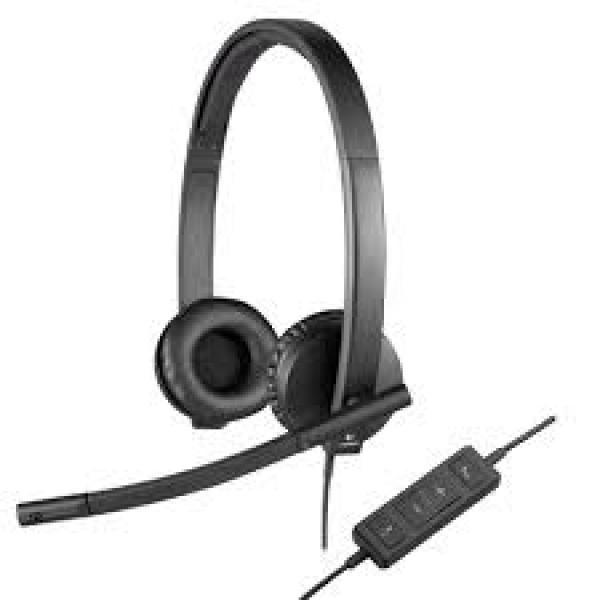 H570E USB STEREO HEADSET Electronics & Technology Other Electronics & Technology Gadget EMH1010BLKBLT-1