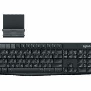 K375s MULTI-DEVICE WIRELESS KEYBOARD & STAND COMBO Electronics & Technology Computer & Mobile Accessories EMK1002BLKBLT