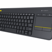 K400 PLUS WIRELESS TOUCH KEYBOARD Electronics & Technology Computer & Mobile Accessories EMK1004BLKBLT-1