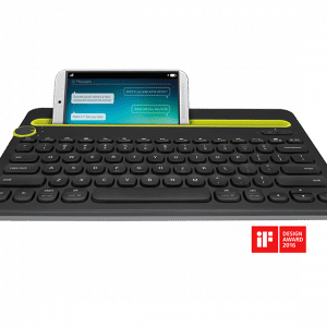 K480 BLUETOOTH MULTI-DEVICE KEYBOARD Electronics & Technology Computer & Mobile Accessories EMK1005BLKBLT