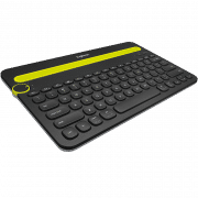 K480 BLUETOOTH MULTI-DEVICE KEYBOARD Electronics & Technology Computer & Mobile Accessories EMK1005BLKBLT-1