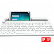K480 BLUETOOTH MULTI-DEVICE KEYBOARD Electronics & Technology Computer & Mobile Accessories EMK1005WHTBLT
