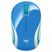 M187 PORTABLE WIRELESS MOUSE Electronics & Technology Computer & Mobile Accessories EMM1009BLUBLT