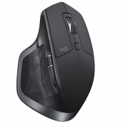 MX MASTER 2S WIRELESS BLUETOOTH MOUSE Electronics & Technology Computer & Mobile Accessories EMM1017BLKBLT