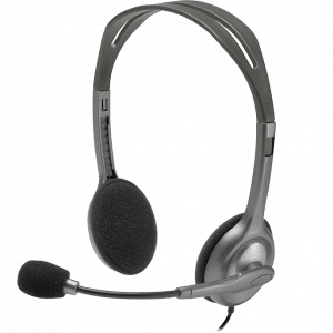 H110 STEREO HEADSET WITH 3.5MM JACKS Electronics & Technology Other Electronics & Technology Gadget EMH1003