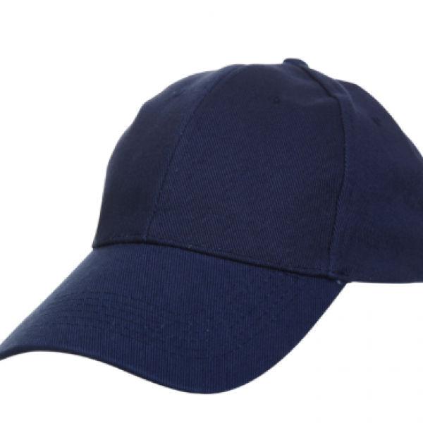 Baseball Cotton Brush Cap Headgears navy
