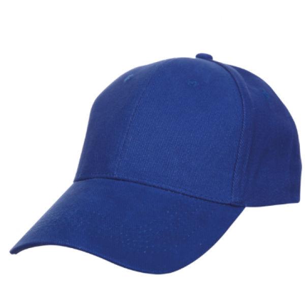 Baseball Cotton Brush Cap Headgears royalblue