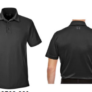 Under Armour Corporate PoloTee Apparel Shirts BLACK