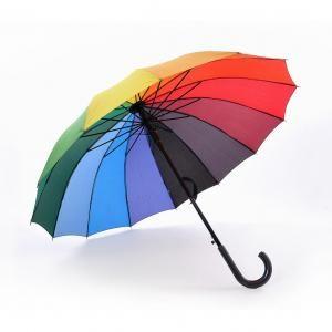 """LL167RB 24"""" Straight Umbrella Straight Umbrella ll167rb_open"""