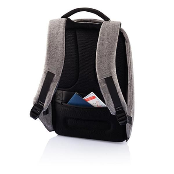 Bobby Anti-Theft Backpack Computer Bag / Document Bag Haversack Travel Bag / Trolley Case Bags Crowdfunded Gifts THB1120-GRY_5