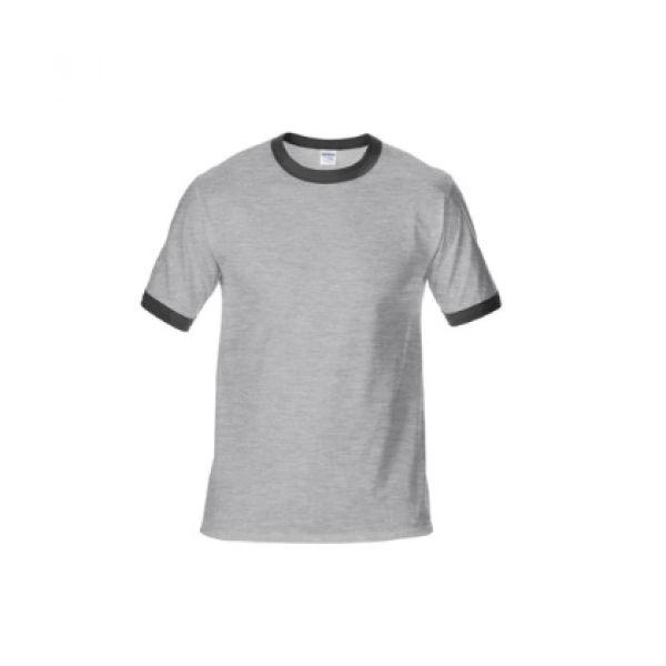 76600 Gildan Ringer Tee Apparel Shirts NATIONAL DAY greywithblack