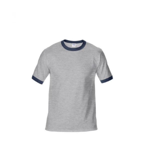 76600 Gildan Ringer Tee Apparel Shirts NATIONAL DAY greywithblue