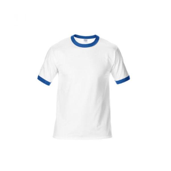 76600 Gildan Ringer Tee Apparel Shirts NATIONAL DAY whitewithroyal