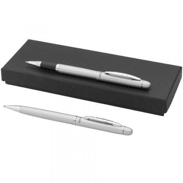 Ballpoint Metal Pen Gift Set Office Supplies Other Office Supplies Stationery Sets Best Deals silver1