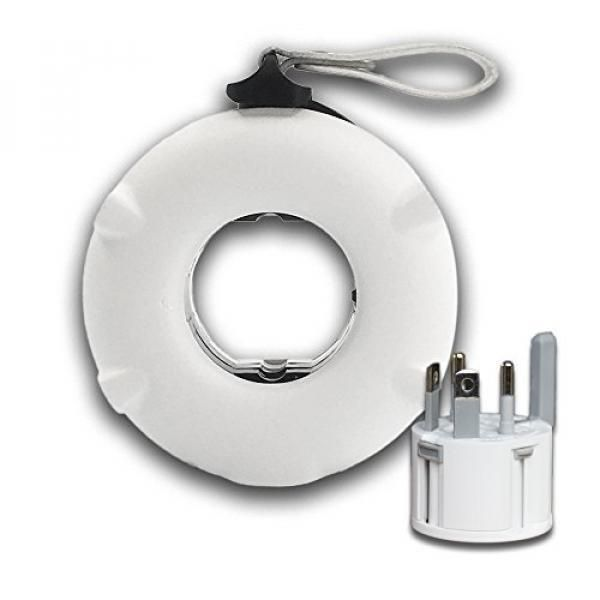 Mogics Power Bagel Travel Adaptor Electronics & Technology Gadget Best Deals Crowdfunded Gifts white