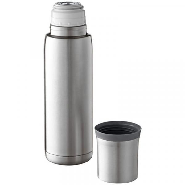 Flow Isolating Stainless Steel Flask Household Products Drinkwares silver