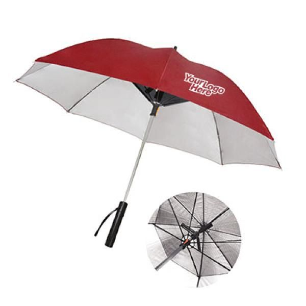 Camacho UV Umbrella  Fan and Powerbank Umbrella Straight Umbrella UMS1004LogoThumb