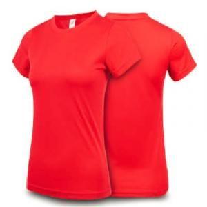 Ultifresh Performance Dri-Fit Round Neck Female Apparel Shirts sst1016-red