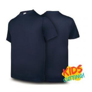Ultifresh Performance Dri-Fit Round Neck Kids Apparel Shirts sst1017-navy