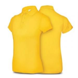 Ultifresh Performance Dri-Fit Polo Female Apparel Shirts ssp1012-yellow