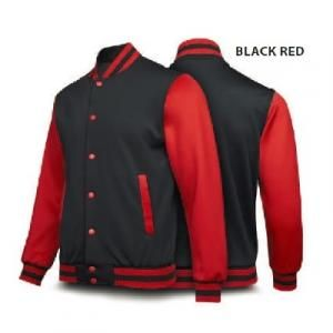 Ultifresh Varsity Jacket Apparel Jacket Best Deals SJJ1005-BWR