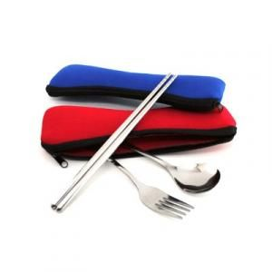 Cutlery Set In Pouch Household Products Kitchenwares Largeprod654