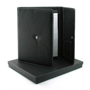 A5 Bava Portfolio W Notepad Small Leather Goods Leather Folder / Portfolio F97