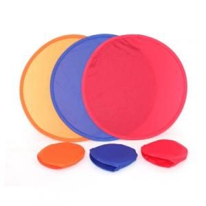 Foldable Frisbee Recreation Beach Items Ls005