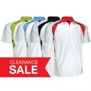 Cool Dry Mandarin Collar T-shirt w/ Zip Apparel Shirts Best Deals Largeprod1565