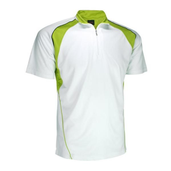 Cool Dry Mandarin Collar T-shirt w/ Zip Apparel Shirts Best Deals Productview21565