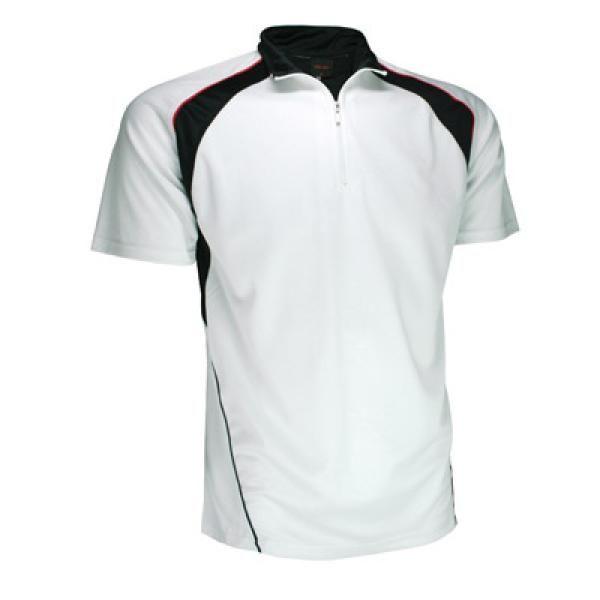 Cool Dry Mandarin Collar T-shirt w/ Zip Apparel Shirts Best Deals Productview41565