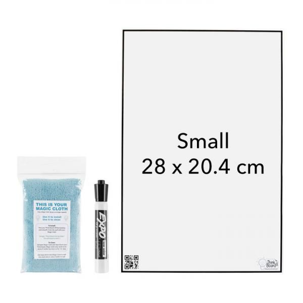 Think Board X Small 28 x 20.4 cm Office Supplies Other Office Supplies Crowdfunded Gifts thinkboardxwithwhitebg
