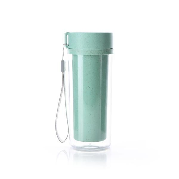 iECO503 Eco Friendly Bottle with Strap Household Products Drinkwares Eco Friendly HDB1043GreenHD