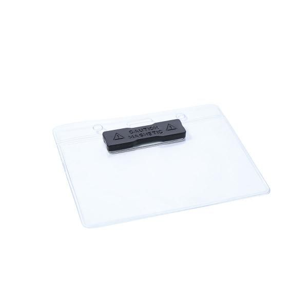Magnetic Plastic Card Holder Office Supplies Other Metal & Hardwares Card Holder Promotion DCH1003HD_1